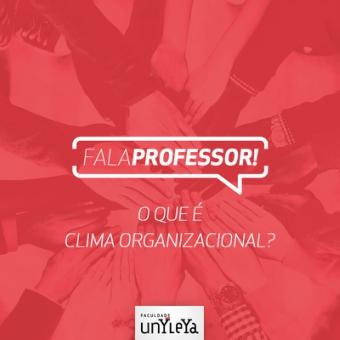 O que é clima organizacional e como este pode ser gerenciado?