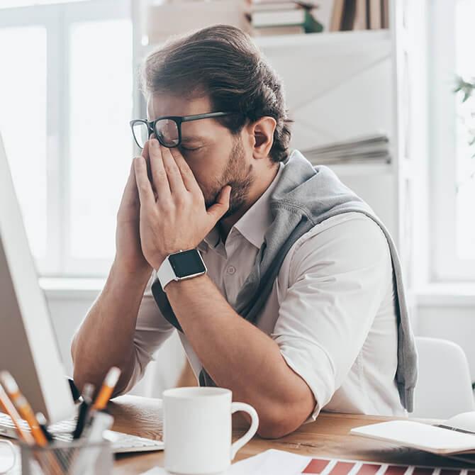 Você sabe lidar com o estresse no trabalho?